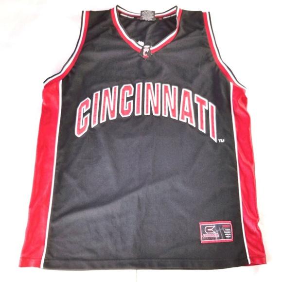 reputable site 4d16c 8b569 Cincinnati Bearcats Sewn Basketball Jersey Size XL